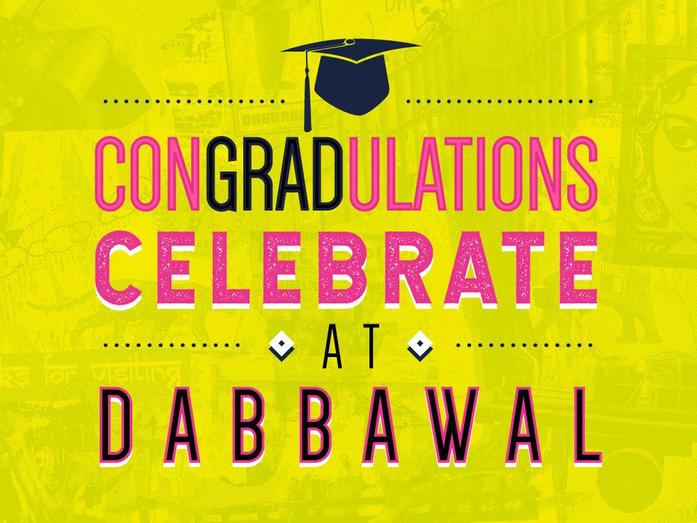 congradulations celebrate at dabbawal dabbawal